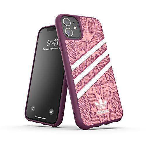 adidas Funda diseñada para iPhone 11 Pro, Fundas probadas a Prueba de caídas, Bordes elevados, Carcasa Original Moldeada, Color Rosa y Bayas
