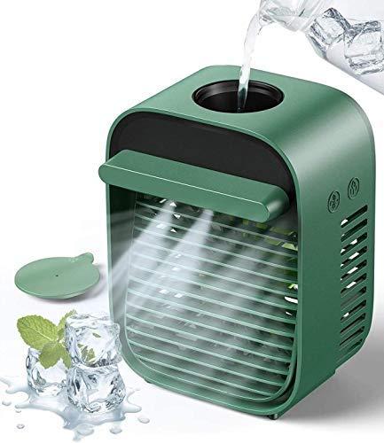 Ventiladores para dormitorio, refrigeración en ventilador de dormitorio 5s, caída rápida 10 ℃, 2 m/s potente velocidad del viento, 28 dh pequeños ventiladores para..