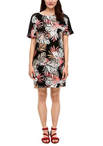 s.Oliver Damen Sommerkleid Kleid, 99A2 MINIMAL Print, XL