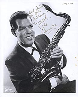 Glenn Miller Band (Tex Beneke) - Inscribed Photograph Signed 03/19/1974