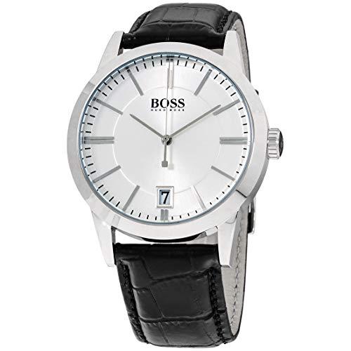 Reloj con mecanismo de cuarzo para hombre Hugo Boss 1513130, diseño clásico y correa de piel.