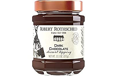 Robert Rothschild Farm Chocolate Dessert Topping with Tasting Spoon