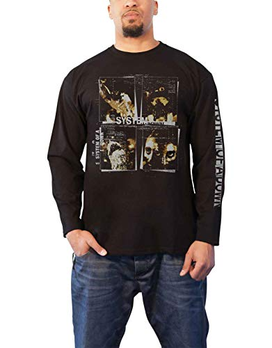 System of A DOWN FACE Boxes Longsleeve M