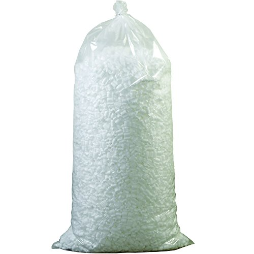 Aviditi 7NUTS Loose Fill Packing Peanuts, 7 Cubic Feet, White