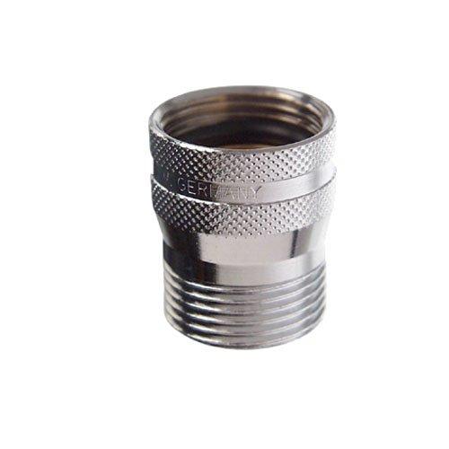 Cornat TECW306502 waterstop voor wasmachine/vaatwasser, 3/4 inch, chroom