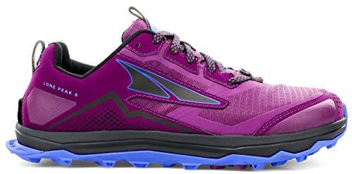 ALTRA AL0A4VR7 Women's Lone Peak 5 Trail Running Shoe, Plum - 7.5 M US