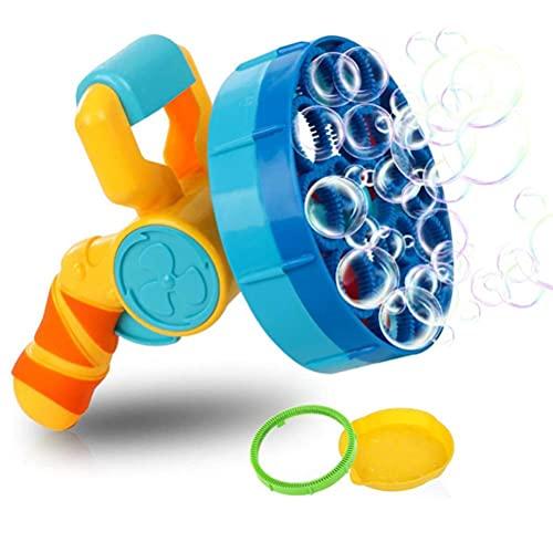 GDZTBS Bubble Machine, Automatische Bubble Blower Party Atmosphäre Umwandlung Bubble Maker Fun Outdoor Spielzeug für Kinder und Kleinkinder Outdoor Alter 3+