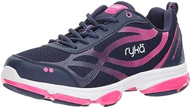 RYKA Women's Devotion XT Cross Trainer, Medieval Blue/Athena Pink/White, 7.5 M US