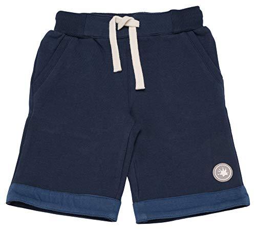 Sigikid Jungen Sweat Bermuda, Mini Shorts, Blau (Dress Blue 235), (Herstellergröße: 122)