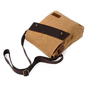 41 XjMDe0DL. SS300  - FANDARE Vintage Mensajero Messenger Bag Crossbody Bolso Bandolera Shoulder Bag Estudiante Viaje Trabajo Escuela Bolso…