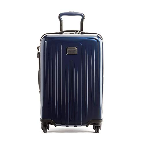 TUMI - V4 International Expandable 4 Wheeled Carry-On - 22-Inch Hardside Luggage for Men and Women - Eclipse