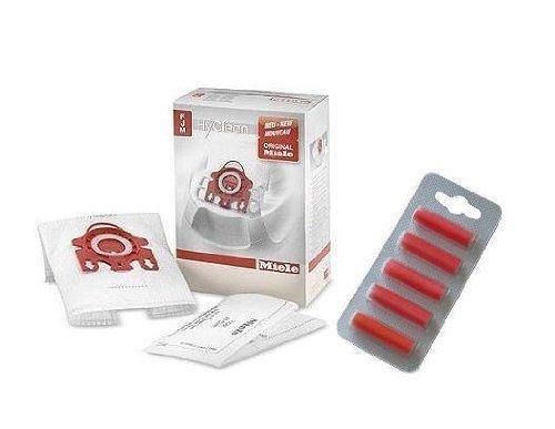 Miele Sacchetti per aspirapolvere Hyclean, Filtro e Deodorante per Auto, Microfibra, Bianco, 1 cm