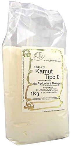 Bongiovanni Farine e Bonta' Naturali Farina di Grano Khorasan Kamutmacinata a Cilindri - 1 kg