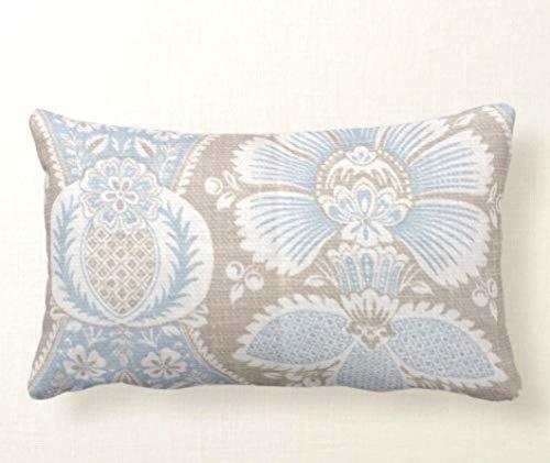Toll2452 azul almohadas azules fundas de almohada cojines cojines cojines decorativos almohadas cachemir almohadas almohadas lumbares almohadas acento almohadas