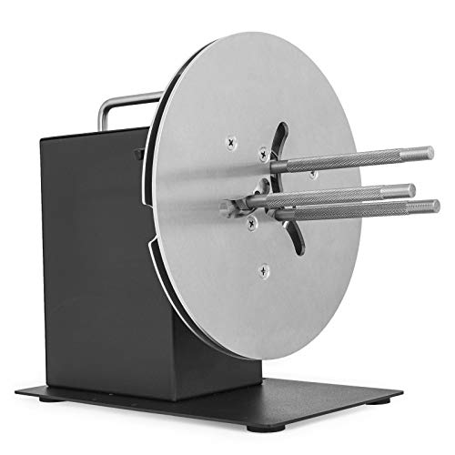 Happybuy HD-R9 Label Rewinder 220mm Label Rewinding Machine Automatic Label Rewinder Synchronize with Printer