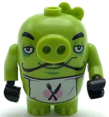 Bricks Lego Minifigure Angry Birds Chef Pig