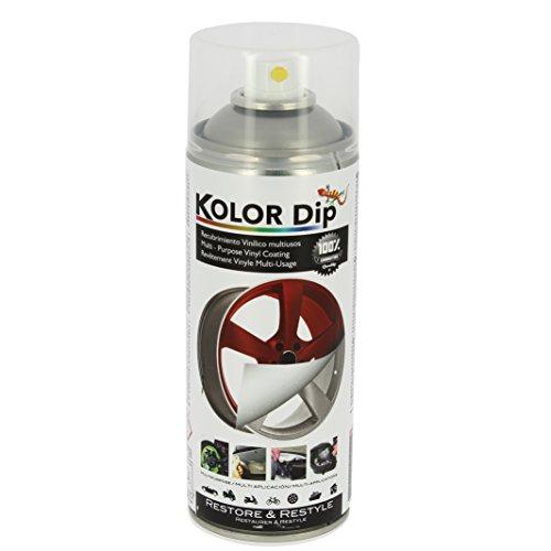 Kolor Dip Spain KD10001 Pintura en Spray con Vinilo Líquido Extraible, Laca Brillante