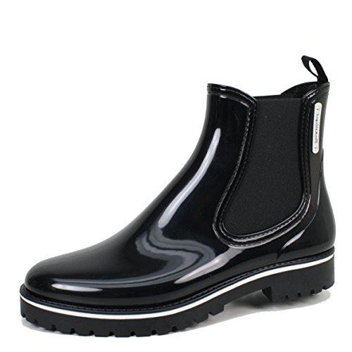 Bockstiegel Damen Stiefeletten schwarz/Multi Oxford schwarz 464689