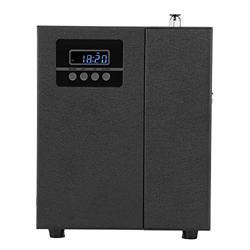 Haofy Difusor de Aceite Esencial, humidificador de vaporizador de difusor de Aceite perfumado de aromaterapia para electrodomésticos para Dormitorio y habitación de bebé(Negro)