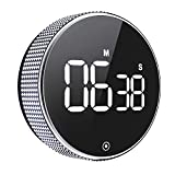 Kitchen Timer, OVEKI Magnetic Countdown Digital Timer,LED twist One Button Operation for Teacher...