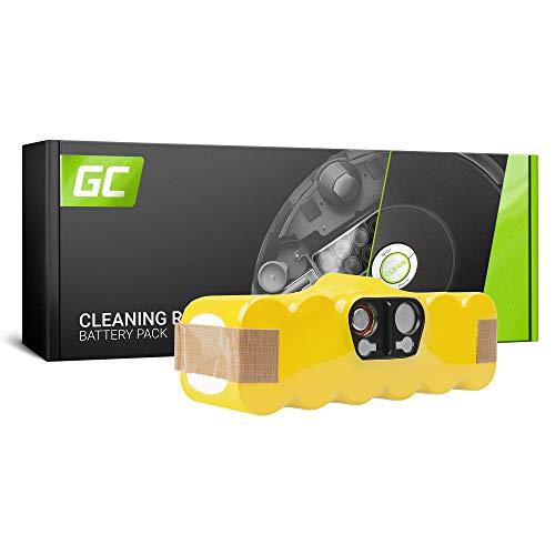 GC® (3.3Ah 14.4V Ni-MH pile) xLife Batería para iRobot Roomba 500 ...