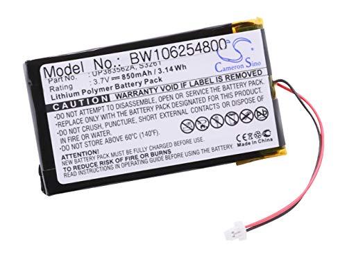 vhbw Akku passend für PDA, Handheld, Pocket PC Palm M500, M505, M515, M 500, 505, 515, IBM WorkPad 8602-10U, WorkPad c500 (850mAh, 3.7V, Li-Polymer)