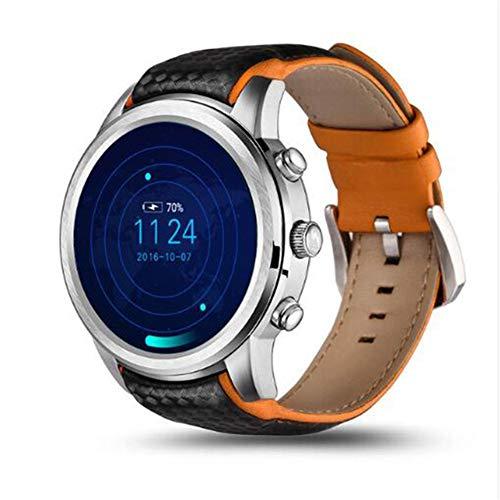LEMFO LEM5 Pro Smartwatch,Android 5.1 2 GB + 16 GB Herrenuhr Unterstützung 3G-SIM-Karte GPS WiFi Pulsmesser Intelligente Uhr,Orange