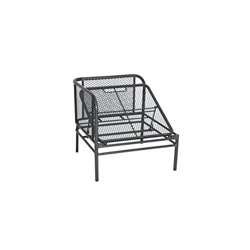 greemotion Loungeset Toulouse eisengrau/grau, Eckbank mit Tisch für In- und Outdoor, Bank mit Rückenverstellung, pflegeleichtes Streckmetallgestell, Sitzelemente einfach umzustellen, ca. 5 Sitzplätze - 5