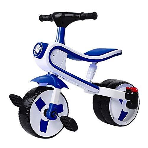 Bicicleta para Niños y Niñas Bicicletas niños de 3 ruedas de bicicletas for niños pequeños las muchachas de los triciclos for niños pequeños triciclos bici del bebé de Trike, masculino y femenino de b