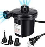 Electric Air Pump for Inflatables, Portable...