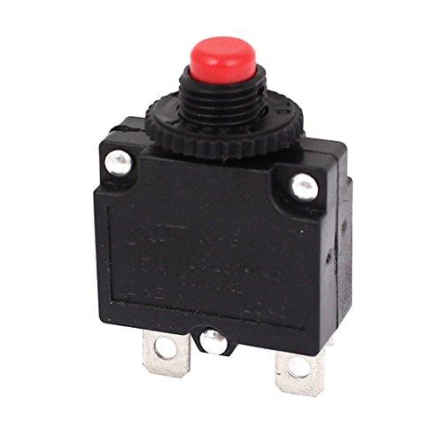 Sourcingmap® Luft Kompressor rot Knopf Leistungsschalter Überlastschutz 15A 125V/250V AC de
