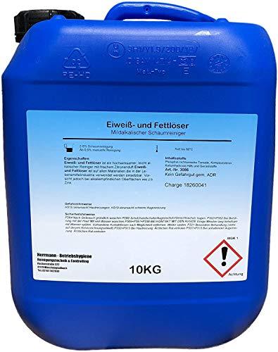 Eiweiß- und Fettlöser 10l Spezial Fettlöser Öl Ruß Nikotinentferner Allzweckreiniger - Poolreiniger - Fussbodenreiniger