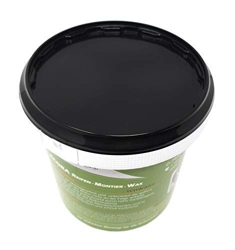 DWT-Germany 101425 - Pasta de montaje de neumáticos (1 kg), color negro