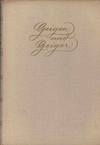 Geigen und Geiger