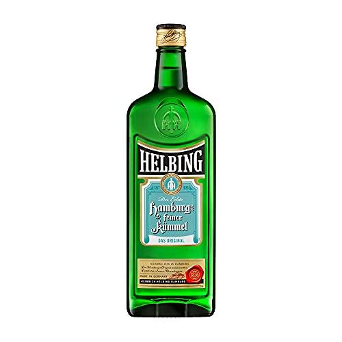 Helbing Kümmel - Hamburgs feiner Kümmel Schnaps seit 1836 - Trinkt man eiskalt, pur oder mit Tonic. (1 x 0,7 l)*