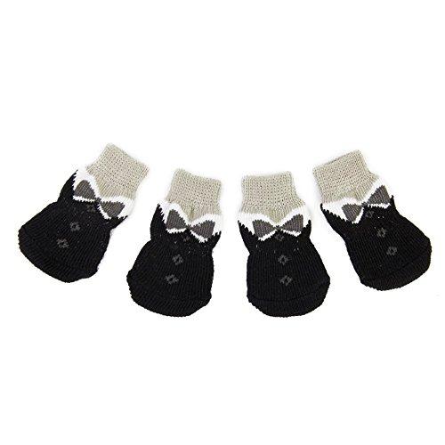 Rocita - Calcetines Antideslizantes para Perros pequeos (4 Unidades)