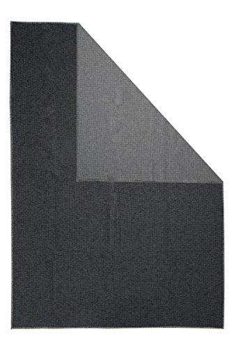David Fussenegger - LIDO - Waffeldecke - Wohndecke - Decke - anthrazit - 140 x 200 cm