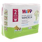 HiPP Babysanft Windeln für Babys, Mit Nässeindikator, Geeignet von 3-6 kg, Gr. 2 (56-68), 2 Tragepack, 31 Stück - 7