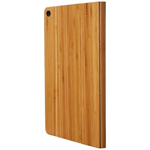 Ultratec Funda protectora / funda tipo libro para iPad Air 2, madera natural