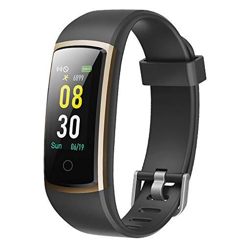 YAMAY Smartwatch Orologio Fitness Tracker Uomo Donna Pressione Sanguigna Smart Watch Cardiofrequenzimetro...