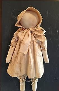 Primitive Farmhouse Folk Art Prairie Doll Felicity