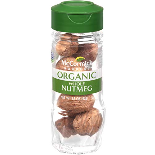 McCormick Gourmet Organic Whole Nutmeg