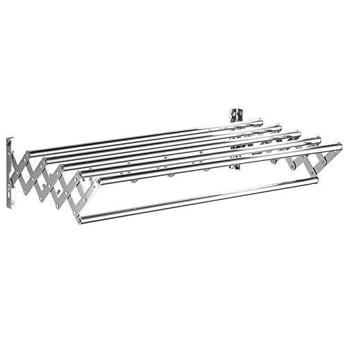 EEBB Wäschetrockner und Befestigungs-Set, Silber