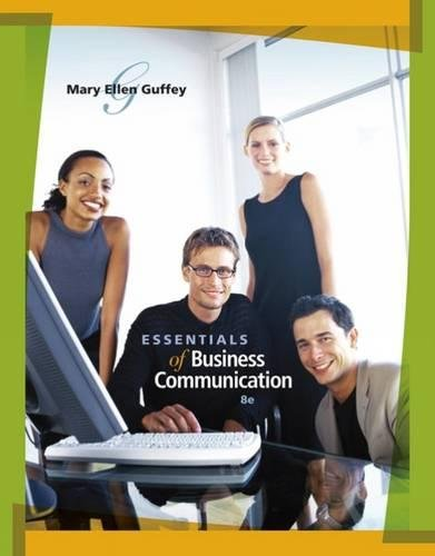 Essentials of Business Communication (with www.meguffey.com Printed Access Card) -  Guffey, Mary Ellen, Paperback