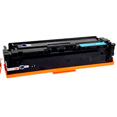 CF400A 401A 402A 403A compatibele vervangende tonercartridge voor HP LasreJet pro M252 277n 277dw serie printer, Het effect is vergelijkbaar met het origineel size Blauw