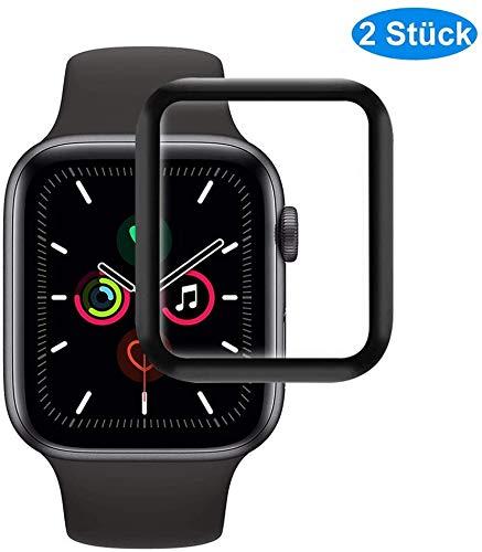 RHESHINE Panzerglas Schutzfolie für Apple Watch Series 3/2/1 42mm [2 Stück] 9H Hartglas iWatch 42mm Series 3/2/1 Schutzfolie Displayschutzfolie HD-Klare 3D Touch Tempered Glas Anti-Öl Anti-Kratzer