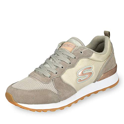 Skechers Retros Og 85, Women's Low-Top Sneakers, Gray (Tpe), 4 UK (37 EU)