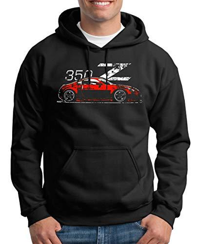 TShirt-People Zetti 350Z Fairlady Pull à capuche pour homme - Noir - Small