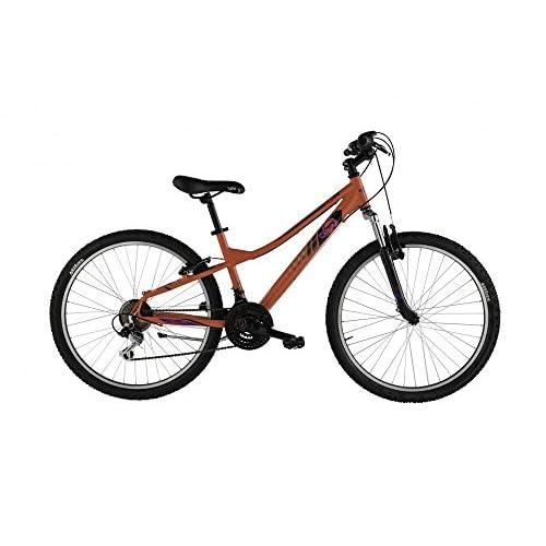 Alpina Bike Flip MTB, Bicicletta Gioventù Unisex, Arancio, 26