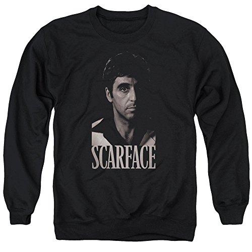 Unbekannt Scarface Herren Sweatshirt Gr. S, schwarz